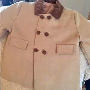 Millicent's children's pea coat